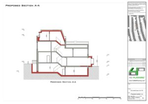 mansard-roof-extension,-side-and-rear-extension,basement-extension-and-extenal-works-proposed-section-AA
